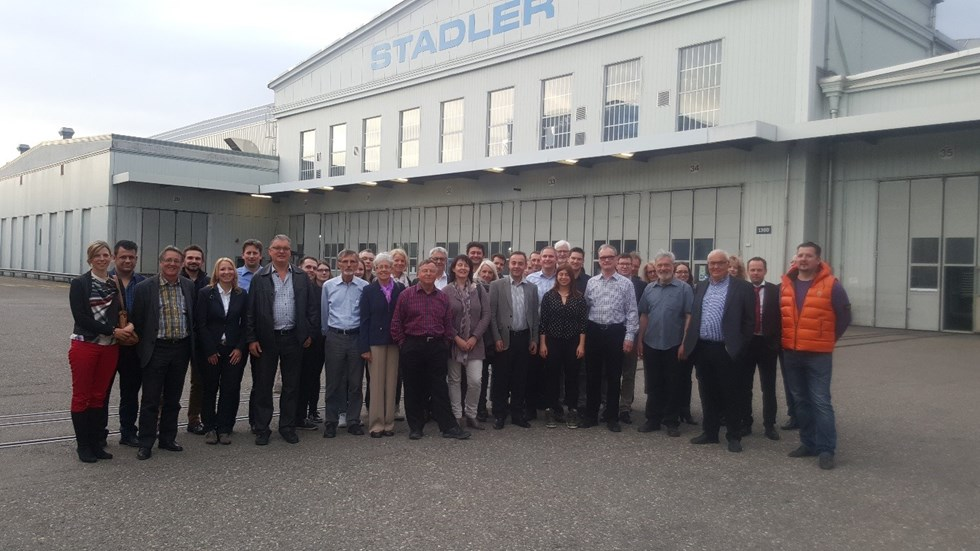 JCI Jung-Senioren laden zu Stadler Rail  2016